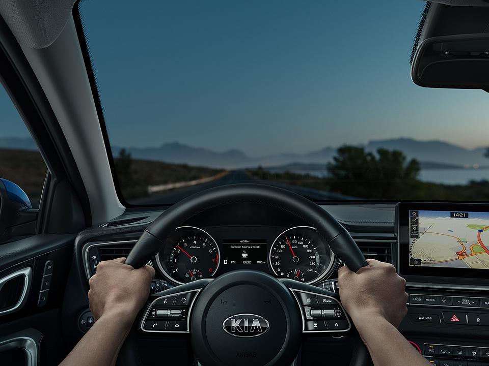 Sistem avertizare și monitorizare atenție șofer (DAA - DRIVER ATTENTION ALERT)